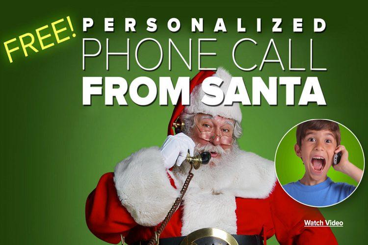 free santa phone call