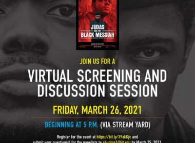 Free virtual screening of Judas and the Black Messiah a