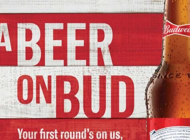 free beer from budweiser