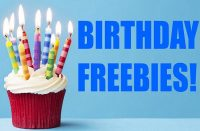 250+ Birthday-Freebies