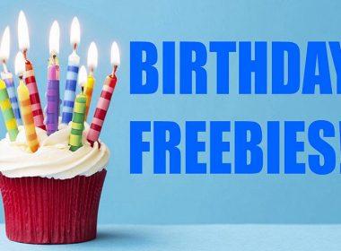 250+ Birthday-Freebies