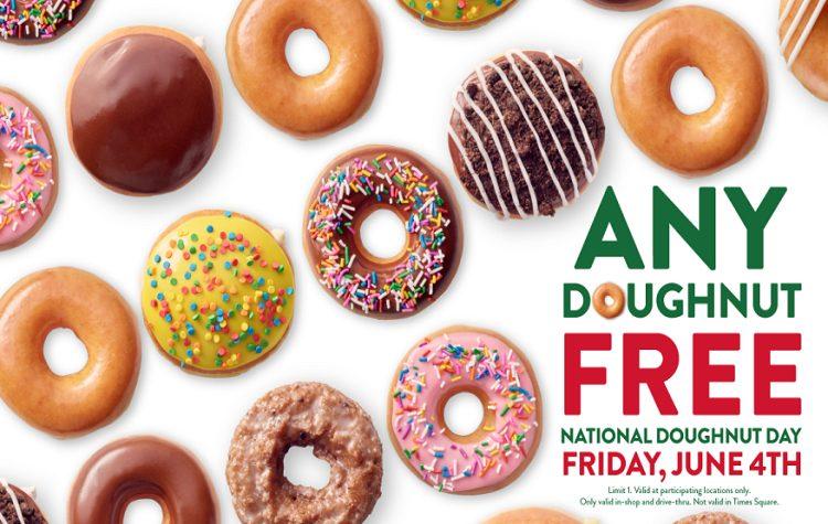 KrispyKremeNationalDoughnutDay-FREE DONUTS