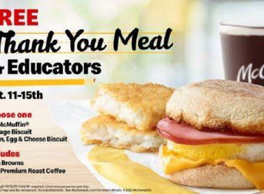 free educators breakfast